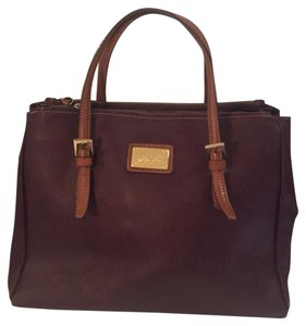 Cavalcanti Satchel in burgandy
