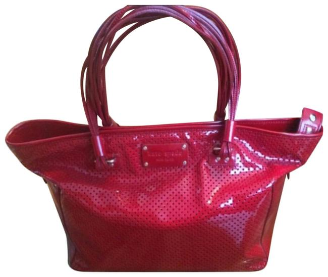 Item - Red Patent Leather Tote
