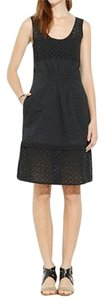 Madewell short dress Black Eyelet Lace Summer Cotton Spring Cut Out on Tradesy