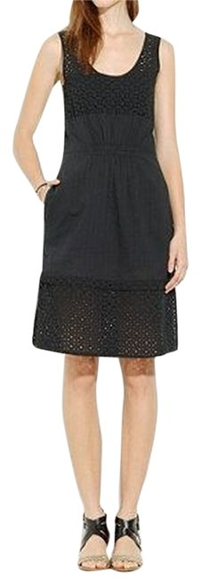 Preload https://item1.tradesy.com/images/madewell-eyelet-lace-summer-dress-black-and-white-stripe-2343445-0-0.jpg?width=400&height=650