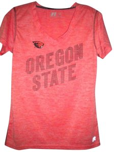 Russell Athletic Oregon State T Shirt Orange