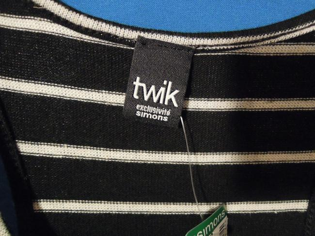 Twik by Simons Top black & white