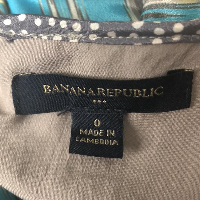 Banana Republic short dress Blue, Yellow, Gray on Tradesy Image 7