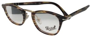 Persol New PERSOL Eyeglasses Typewriter Edition 3109-V 938 47-22 Green Stripe