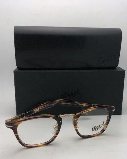 Persol New PERSOL Eyeglasses Typewriter Edition 3109-V 938 47-22 Green Stripe Image 10