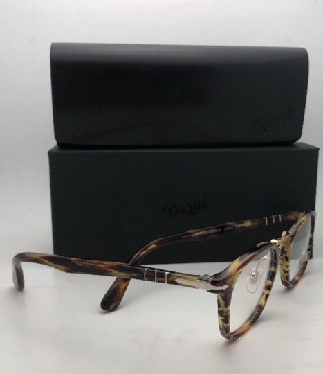 Persol New PERSOL Eyeglasses Typewriter Edition 3109-V 938 47-22 Green Stripe Image 3