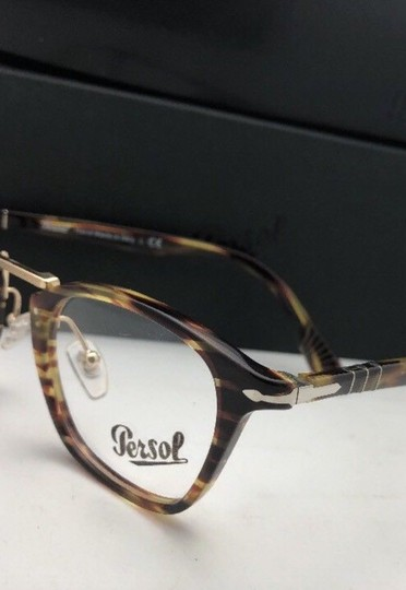 Persol New PERSOL Eyeglasses Typewriter Edition 3109-V 938 47-22 Green Stripe Image 5