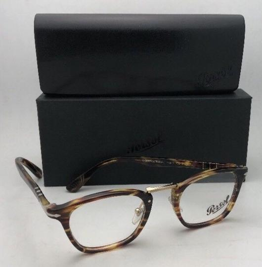 Persol New PERSOL Eyeglasses Typewriter Edition 3109-V 938 47-22 Green Stripe Image 9
