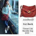 Tory Burch Gemini Link Gift Leather New With Shoulder Bag Image 2