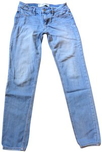 Abercrombie & Fitch Washed Straight Leg Jeans-Medium Wash