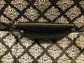 Juicy Couture Lettering Logo J Logo On Leather Studded Gold Hardware Black Clutch Image 7