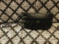 Juicy Couture Lettering Logo J Logo On Leather Studded Gold Hardware Black Clutch Image 9