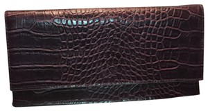Street Level Burgundy Clutch