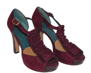 Madden Girl Steve Madden Heels Purple Pumps