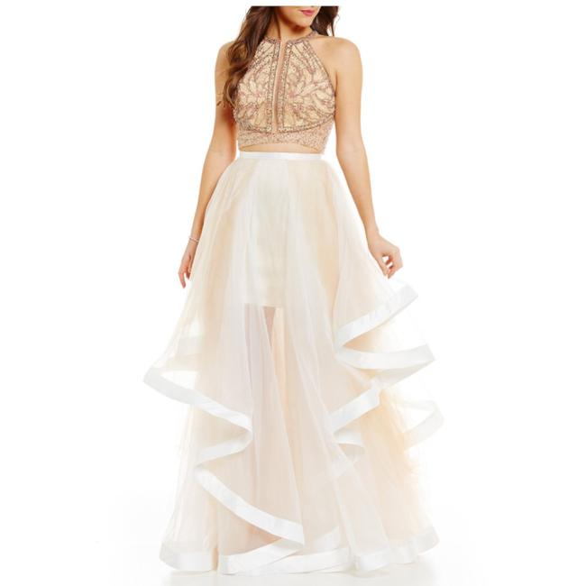 Terani Couture Ivory Tulle Glamour By Layered Ball Gown Skirt Modern Wedding Dress Size 2 Xs Tradesy