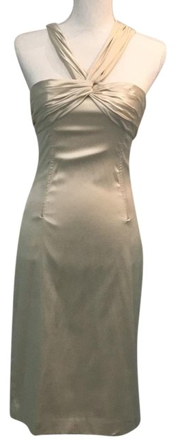 Preload https://img-static.tradesy.com/item/23435524/dolce-and-gabbana-champagne-silk-mid-length-cocktail-dress-size-10-m-0-1-650-650.jpg