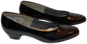Hush Puppies Patent Leather Patent Leather Black Pumps