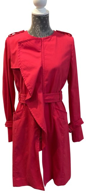 Item - Hot Pink/Orange Rn80734 Jacket Size 4 (S)