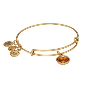 Alex and Ani Topaz Birthstone Bracelet