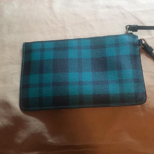 Coach Wristlet in Green and Black Image 3