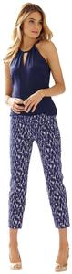 Lilly Pulitzer Capris Bright Navy