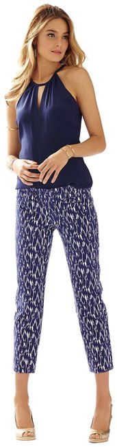 Lilly Pulitzer Capris Bright Navy Image 0