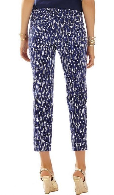 Lilly Pulitzer Capris Bright Navy Image 2