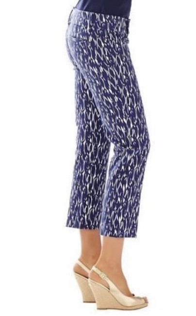 Lilly Pulitzer Capris Bright Navy Image 3
