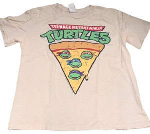 Junk Food T Shirt Beige