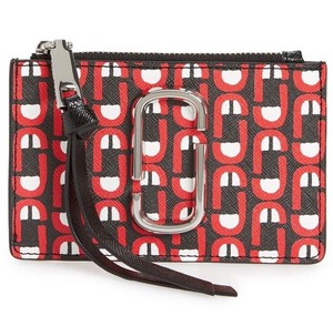 Marc Jacobs Snapshot Scream Zip Wallet Credit Card Case