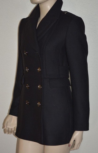 Burberry Wool New Trench Coat Image 4