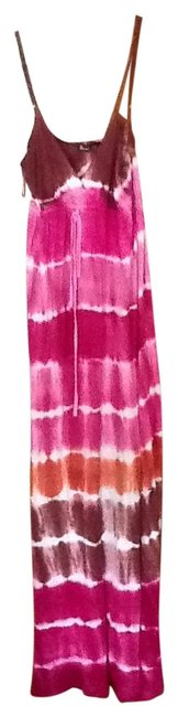 Preload https://item2.tradesy.com/images/pink-and-brown-long-casual-maxi-dress-size-12-l-23436-0-0.jpg?width=400&height=650