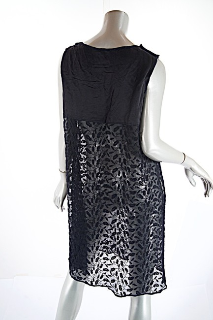 Jean-Paul Gaultier short dress black Sheer Tunic Embroidery Fauna on Tradesy Image 1
