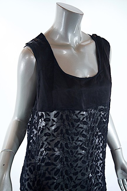 Jean-Paul Gaultier short dress black Sheer Tunic Embroidery Fauna on Tradesy Image 5