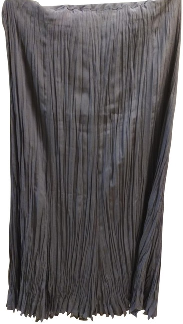 Preload https://img-static.tradesy.com/item/23436065/babette-grey-pleated-unlined-midi-skirt-size-6-s-28-0-1-650-650.jpg