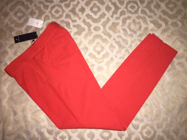 Item - Red Sloan Slim-fit Ankle Pants Size 0 (XS, 25)