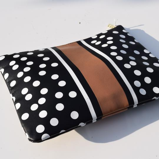 Mudpie black & white Clutch Image 6