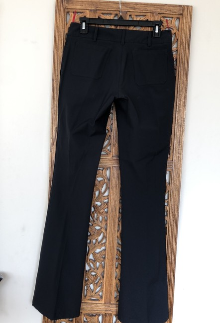 Prada Boot Cut Pants Black Image 6