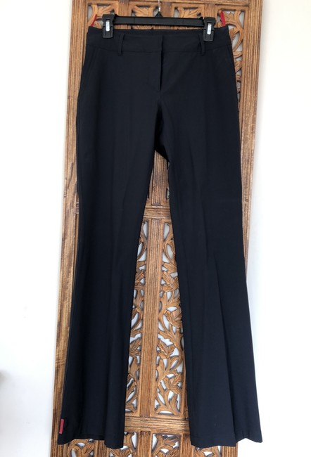 Prada Boot Cut Pants Black Image 7