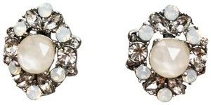 Marchesa NEW! Marchesa Crystal Cluster Stud Earrings