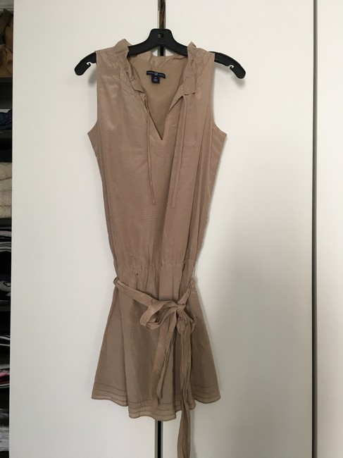 Gap Taupe/Beige No Short Casual Dress Size 0 (XS) Gap Taupe/Beige No Short Casual Dress Size 0 (XS) Image 2