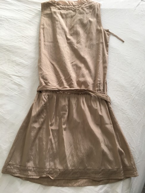 Gap Taupe/Beige No Short Casual Dress Size 0 (XS) Gap Taupe/Beige No Short Casual Dress Size 0 (XS) Image 3