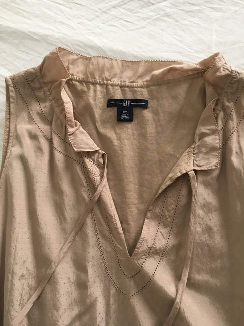 Gap Taupe/Beige No Short Casual Dress Size 0 (XS) Gap Taupe/Beige No Short Casual Dress Size 0 (XS) Image 4