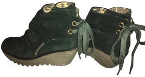 FLY London Forrest, very dark green Boots