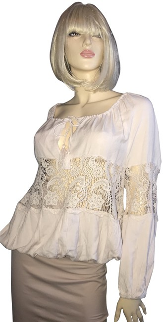 Preload https://img-static.tradesy.com/item/23436261/free-people-pale-pink-lace-loose-fit-elastic-waistsleeves-tunic-size-10-m-0-2-650-650.jpg