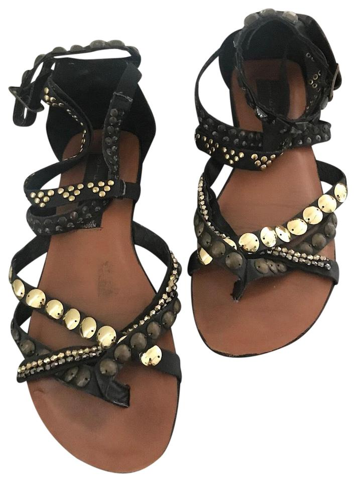 Steven by Sandals Steve Madden Black Gladiator Sandals by 359270
