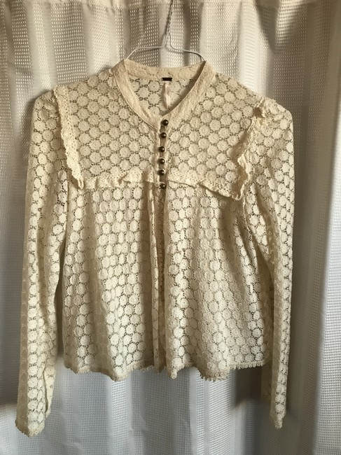 Free People Top Ivory Image 5