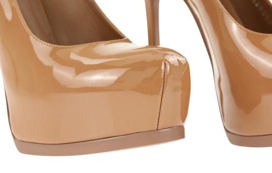 Saint Laurent Tribtoo Tribute Platform Stiletto Classic Beige Pumps Image 6