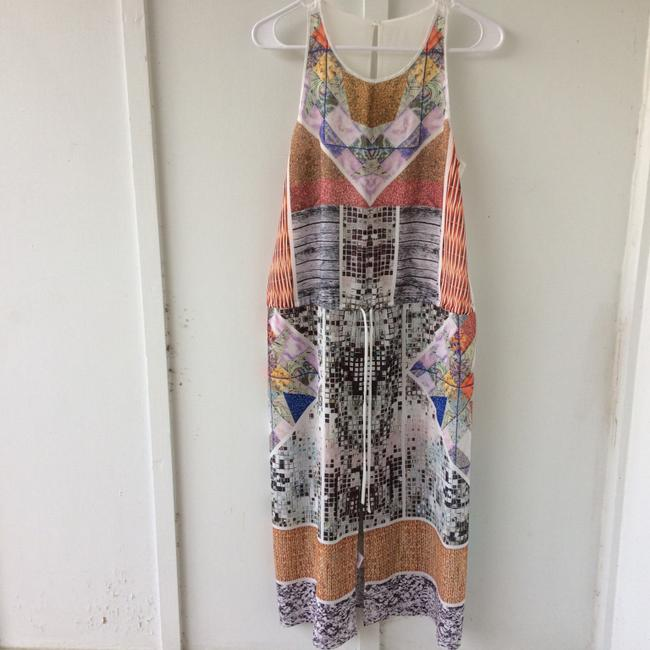 white, multi, Maxi Dress by Clover Canyon Abstract Summer Image 1