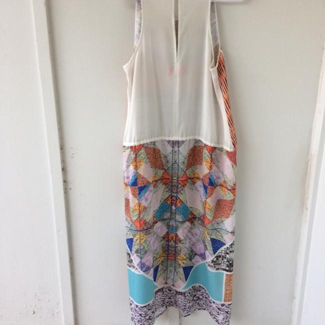 white, multi, Maxi Dress by Clover Canyon Abstract Summer Image 9